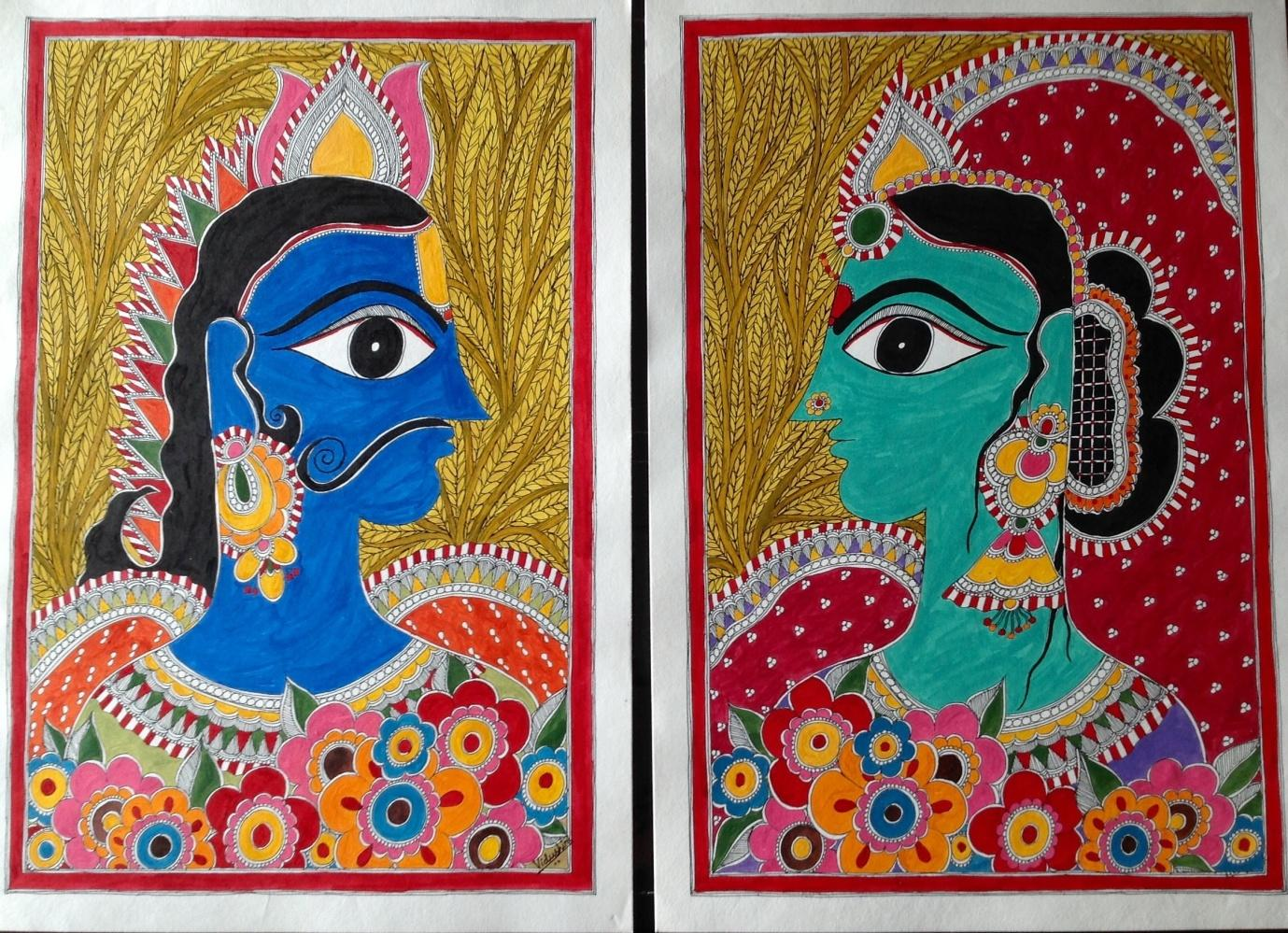 Comparison between traditional Indian art and Contemporary ...