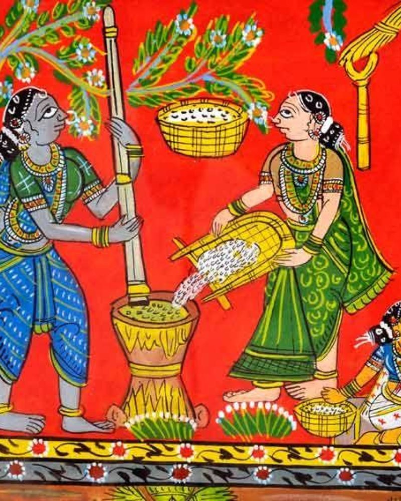 Indian Folk Art Forms That are in use even now
